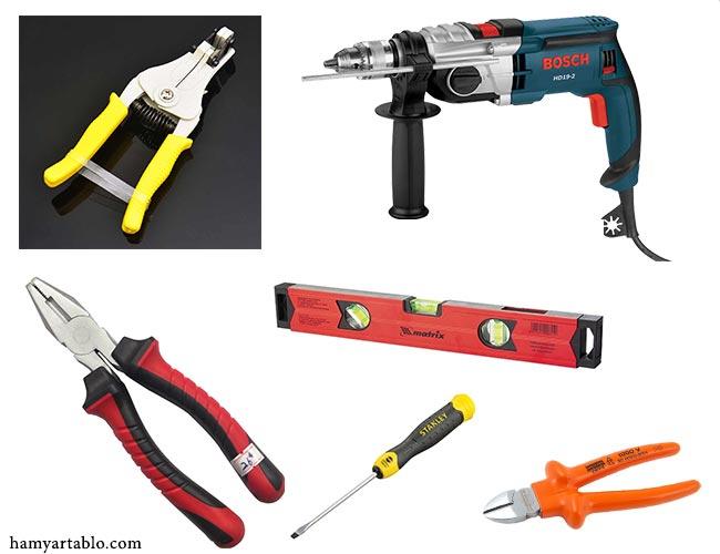مهمترین ابزارهای برق کشی ساختمان